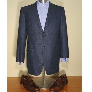 Ermenegildo Zegna Blue Blazer Sport Coat 50R ROMA